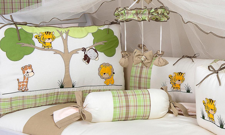 Kit Ber O Floresta Para Os Apaixonados Pro Animais ~ Decoração De Quarto De Bebe Bichinhos Da Floresta