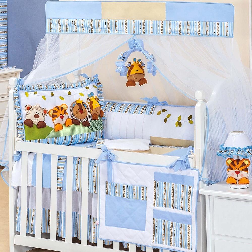 Decoração para quartos de bebê com o tema Safari