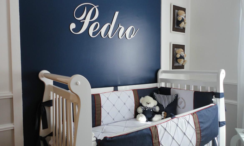 Azul Marinho E Branco A Combina O Perfeita Quartos De Meninos ~ Quarto Bebe Masculino Azul Marinho