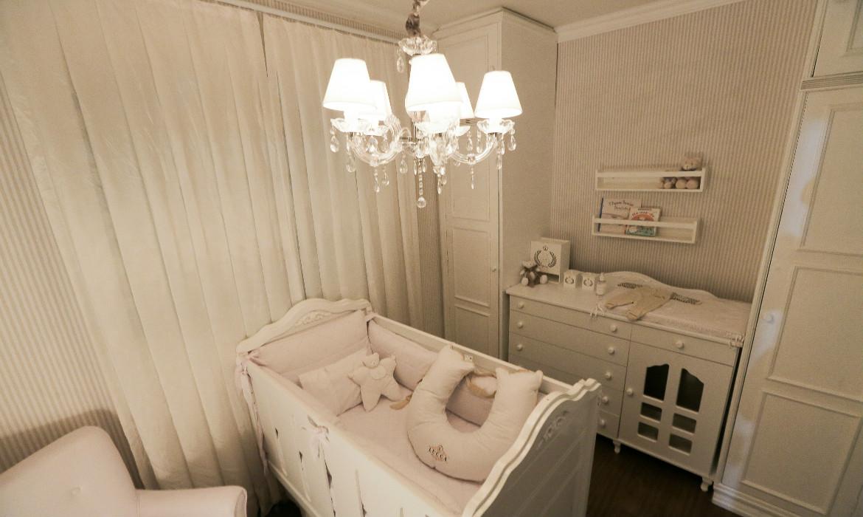 Total White quartos de bebê com decoração 100% branco ~ Quarto Planejado Unissex