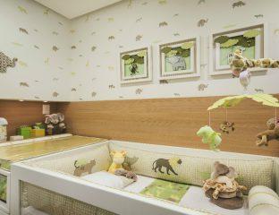 quarto de bebê tema safari