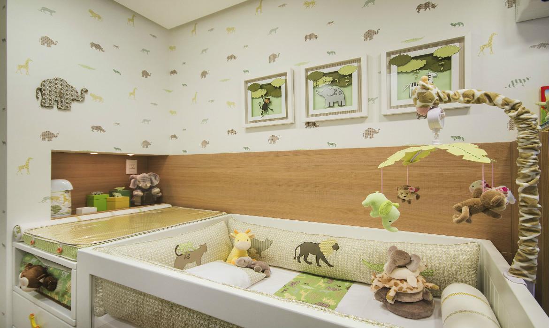 Decoraç u00e3o para quartos de beb u00ea com o tema Safari -> Decoração Para Quarto De Bebe Masculino Safari