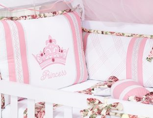 kit berco princess rosa