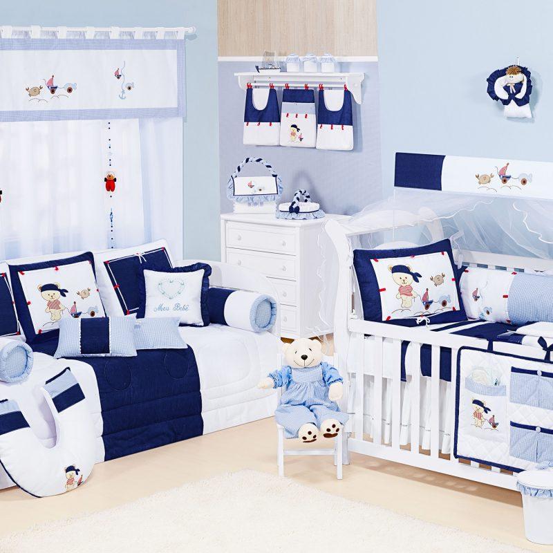 Azul Marinho e Branco a combinação perfeita quartos de  ~ Quarto Verde Marinho