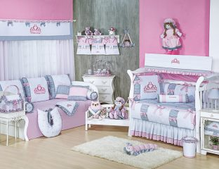 kit berço de princesa