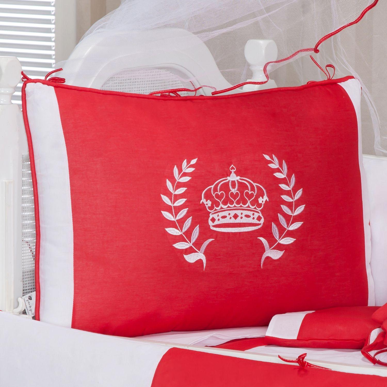 kit berço vermelho, kit berço princess
