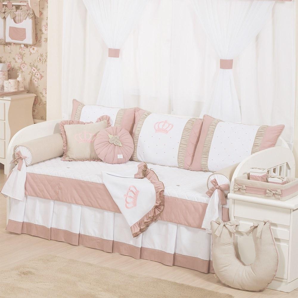 5 lindos modelos de kit cama bab para o quarto de beb - Modelos de cojines para cama ...