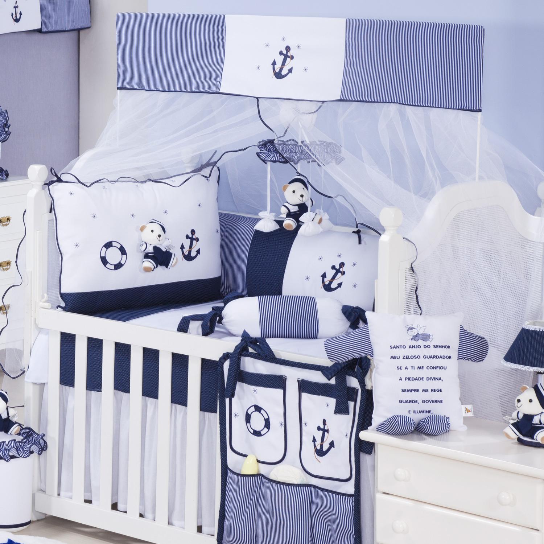 Gr O De Gente Lan A Promo O Imperd Vel De Enxoval Ber O ~ Quarto Azul Marinho E Branco E Montar O Quarto Do Bebe