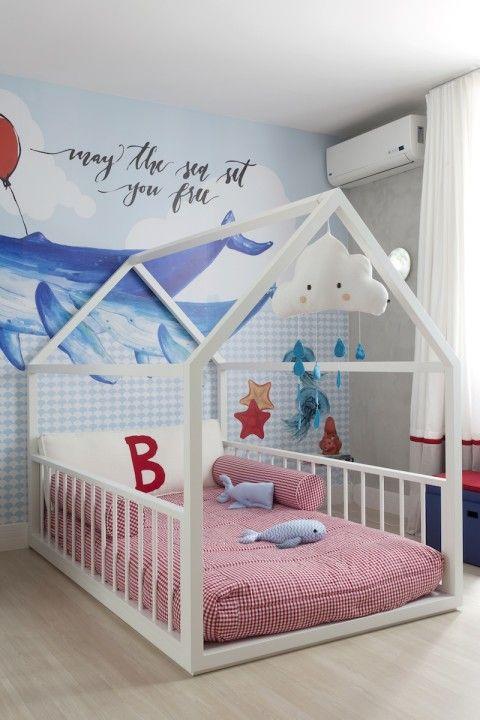 Como decorar uma cama montessoriana veja dicas for Muebles bebe baratos
