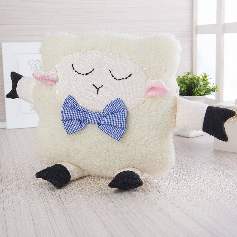 Quer melhor companhia para dormir que uma simpática ovelhinha?! (Produto Grão de Gente ref.72381)