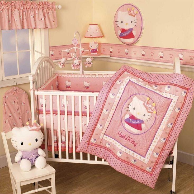 Kit Berço Hello Kitty: uma gatinha no quarto do bebê - Kit ...