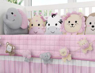 quarto de bebê safári