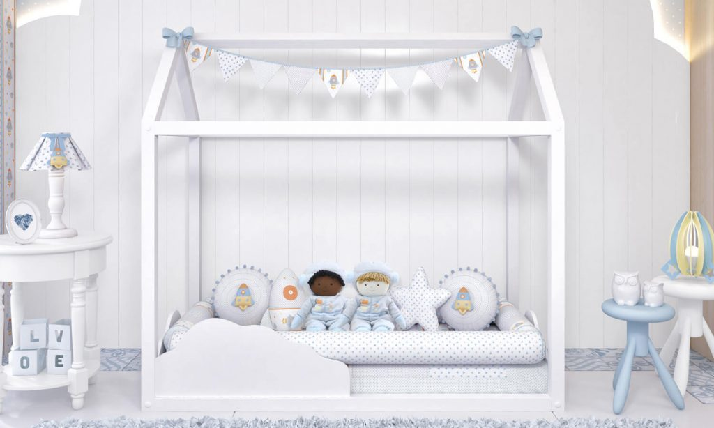 cama casinha montessoriana
