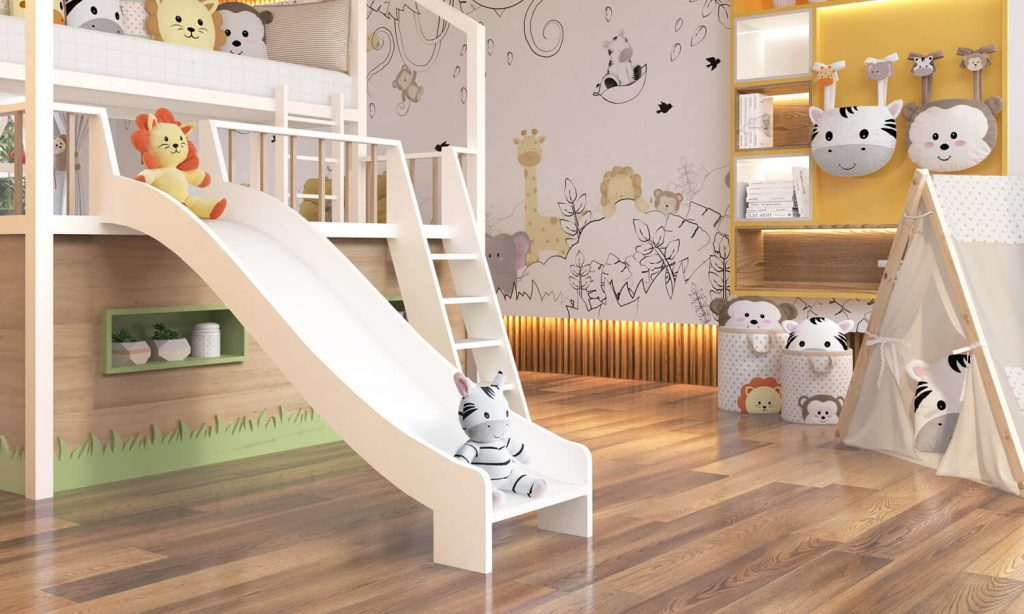 quarto de bebê montessoriano