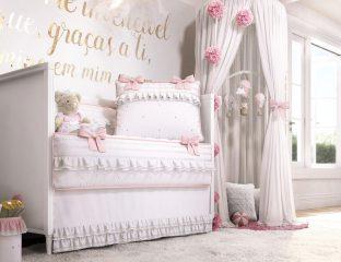 kit berço princesa clássica