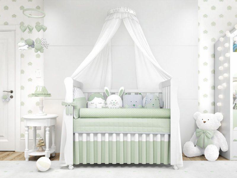 quarto de bebê neutro
