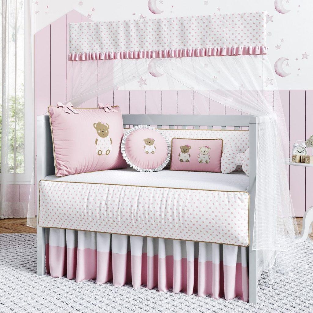 kit-berco-ursinha-floral-rosa-335190